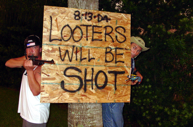 5 Ways To Keep Looters Away From YOUR Home