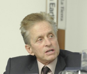 Michael Douglas messenger of peace