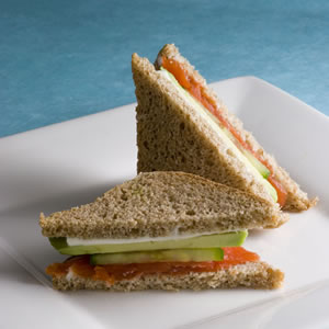 Brown Bread Sandwich