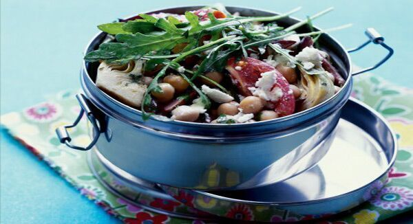 Emergency Food Recipe Of The Week #9: Artichoke And Chickpea Salad