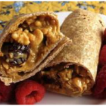 Emergency Food Recipe Of The Week #7: Peanut Butter Granola Wrap Sandwiches