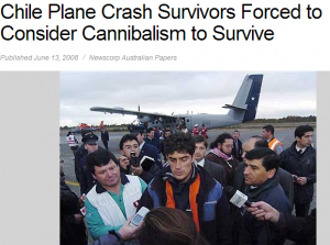 Chile Plane Crash Survivors