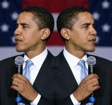 Obama 2 faced