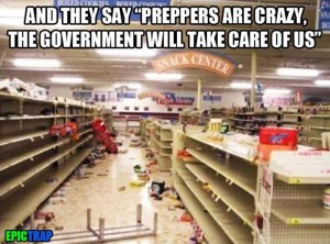 Preppers are crazy