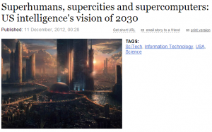 US intelligence's vision 2030