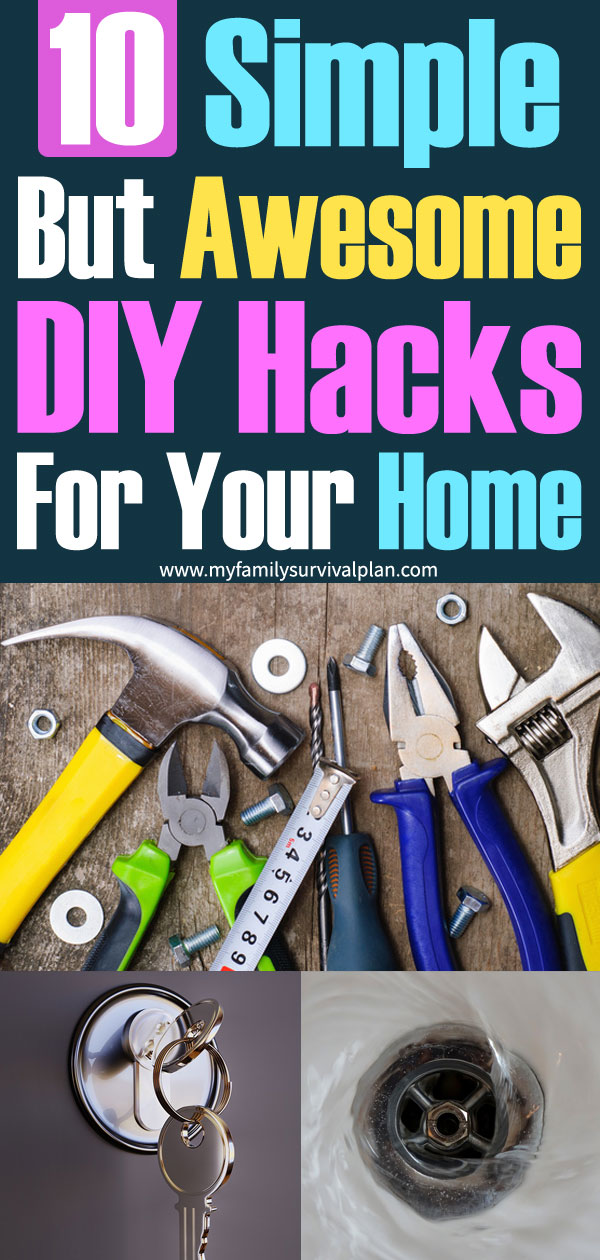 10 Simple But Awesome DIY Hacks For Your Home