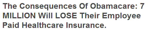 The Consequences of Obamacare
