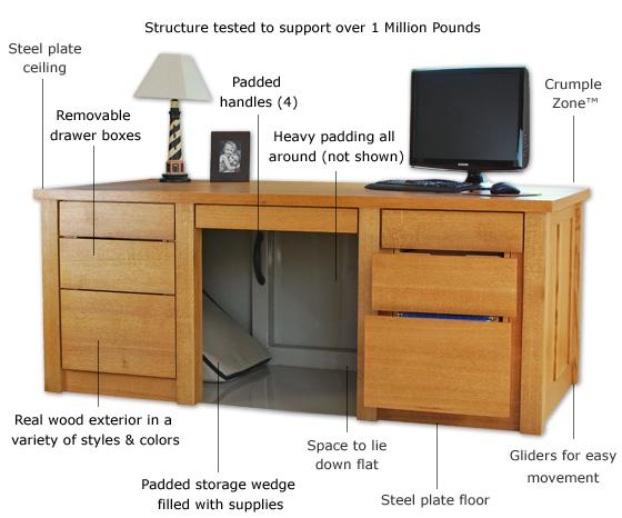 Disaster proof furniture