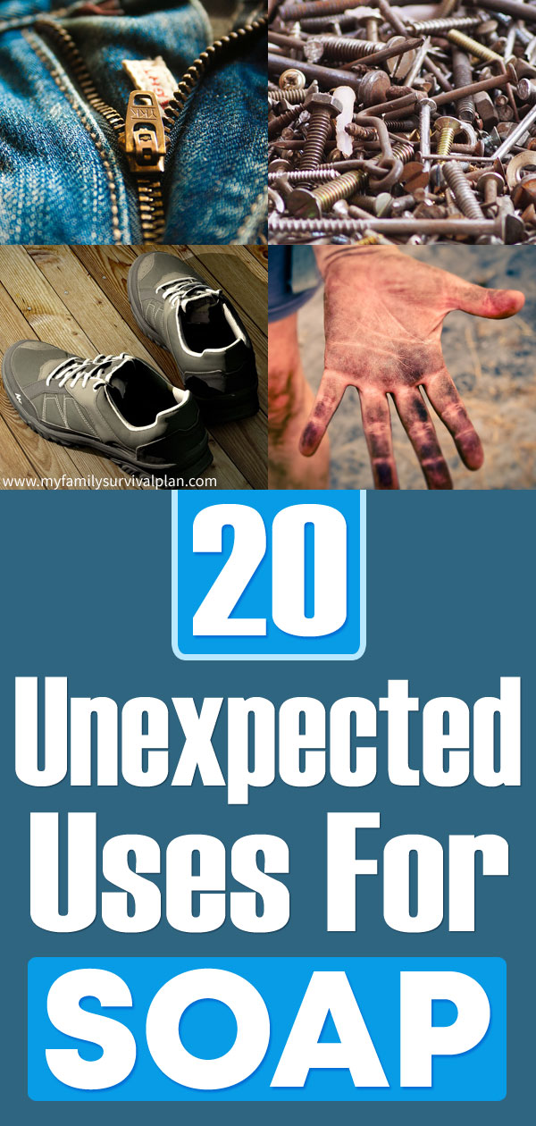 20 Unexpected Uses For Soap
