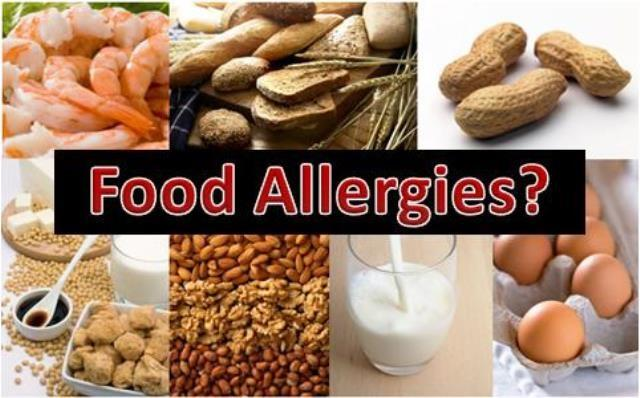 Herbs for food allergies