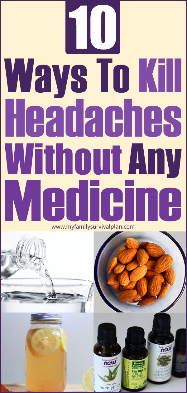 10 Ways To Kill Headaches Without Any Medicine