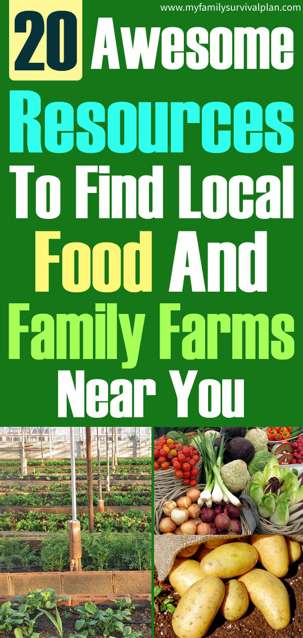 20 Resources To Find Local Food And Family Farms