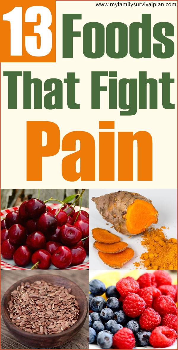 13 Foods That Fight Pain