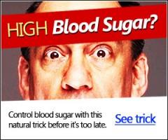 high blood sugar