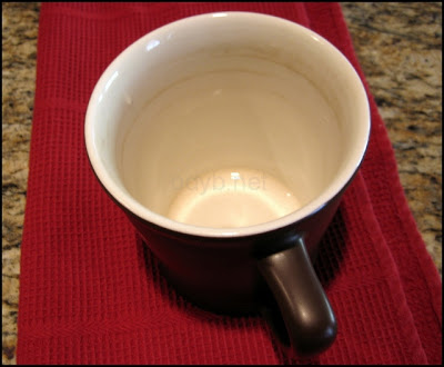 coffee stain cup