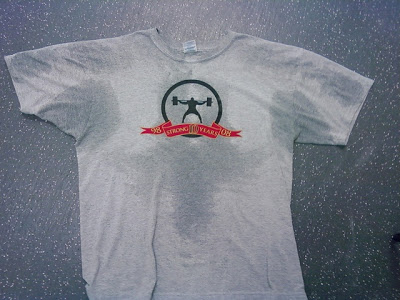 sweat stain shirt