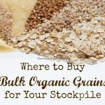 Where To Buy Bulk Organic Grains For Your Stockpile