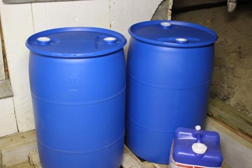 55-Gallon Barrels