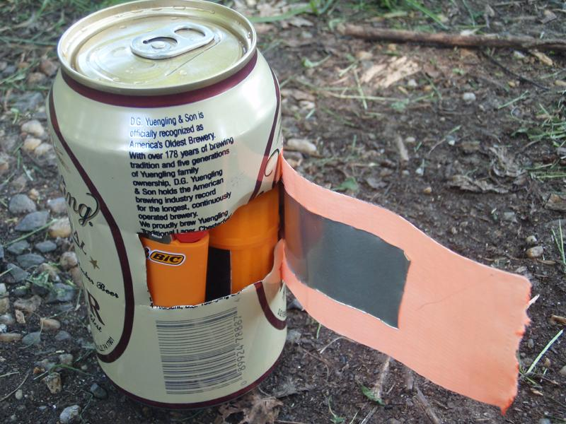 Cheap survival kit container