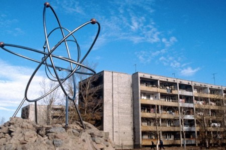 Kurchatov City reduced to a ghost-town