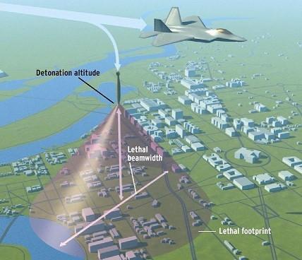 detonation point