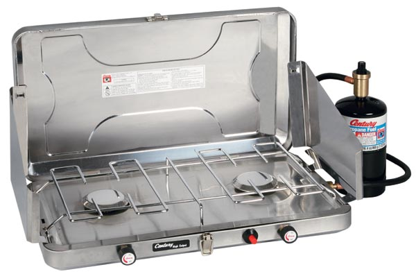 Propane camp stove