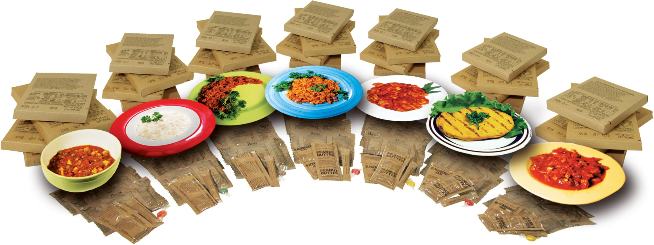 Ready to eat meals (MRE)
