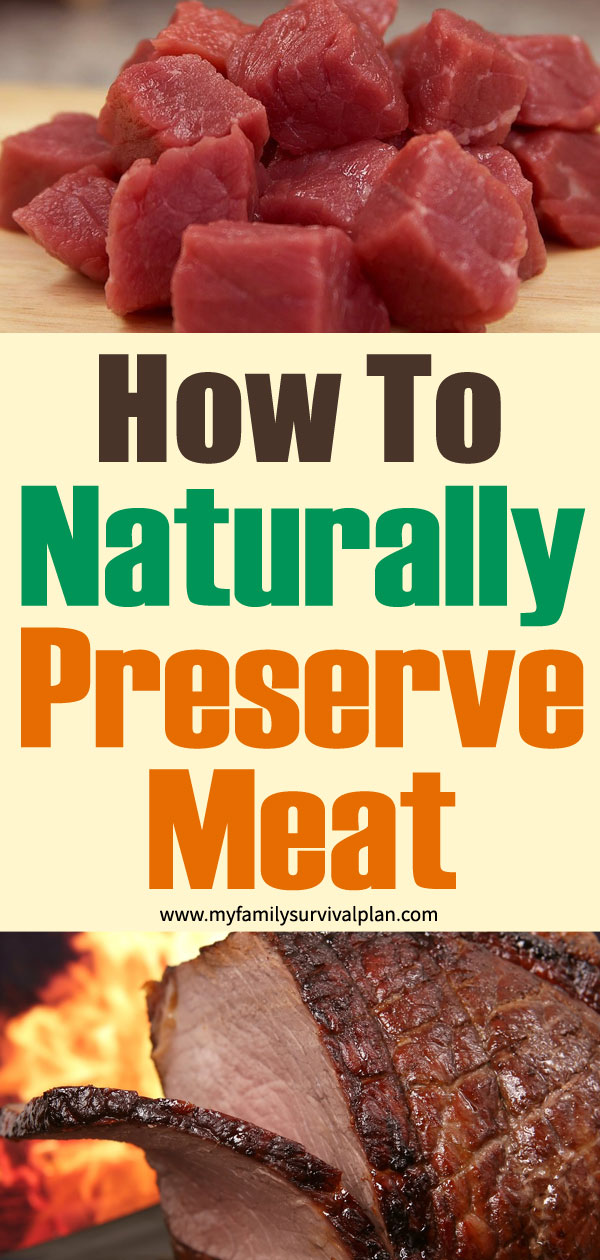 How To Naturally Preserve Meat