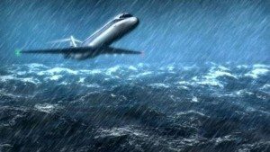 Plane Crash At Sea
