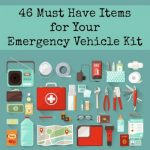 46 Must-Have Items For Your Emergency Vehicle Kit