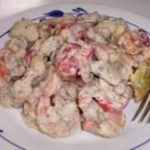Emergency Food Recipe Of The Week #10: Tomato Pesto Bean And Shrimp Salad
