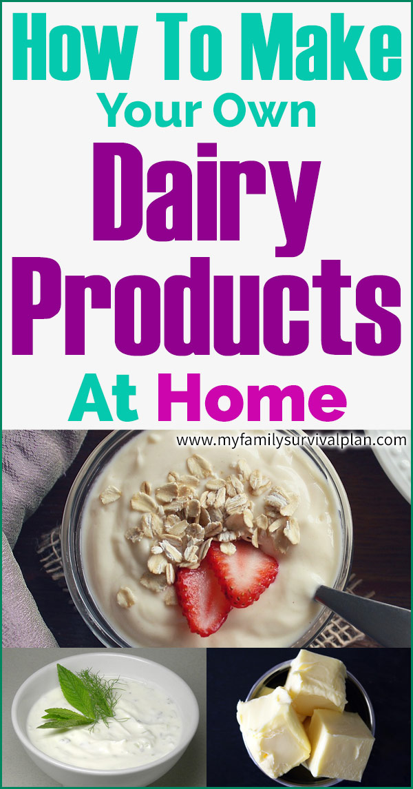 How To Make Your Own Dairy Products At Home