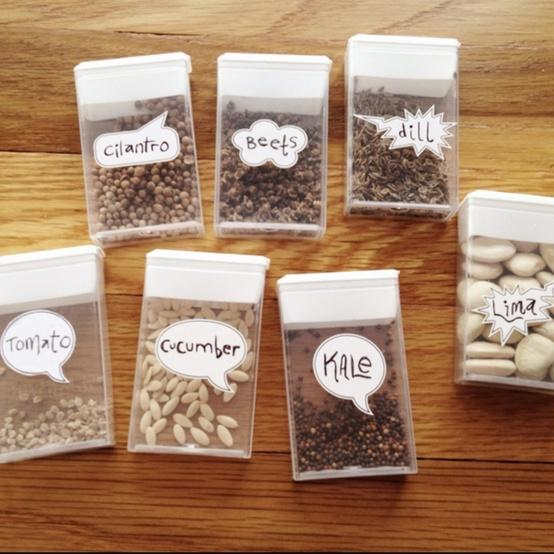 Seeds containers