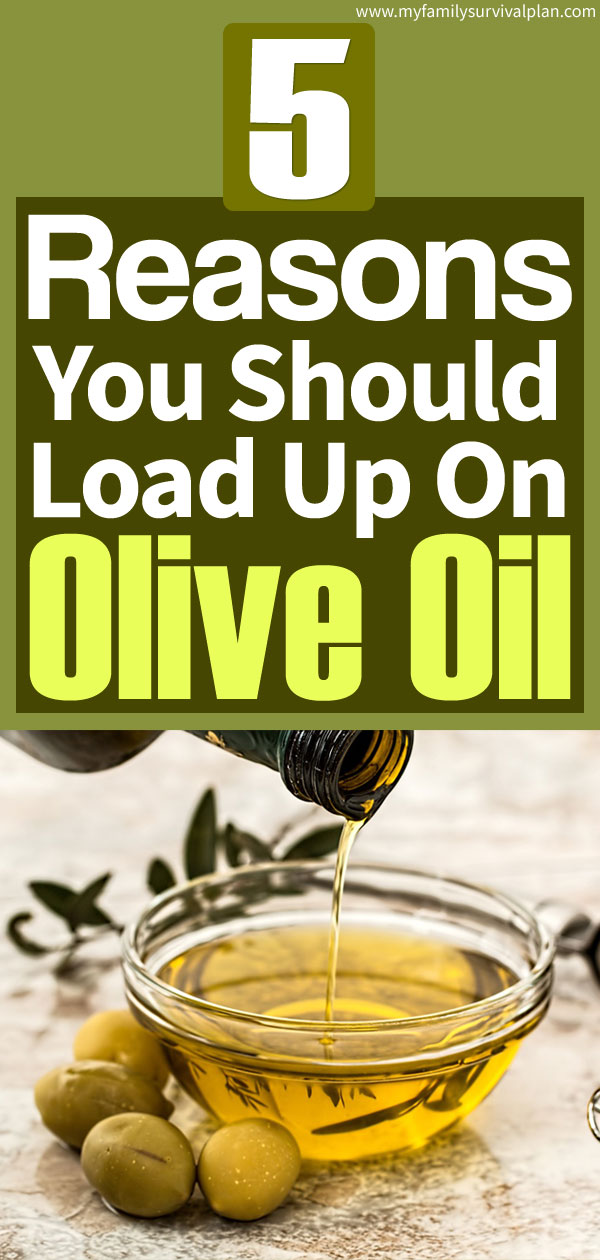 5 Reasons You Should Load Up On Olive Oil