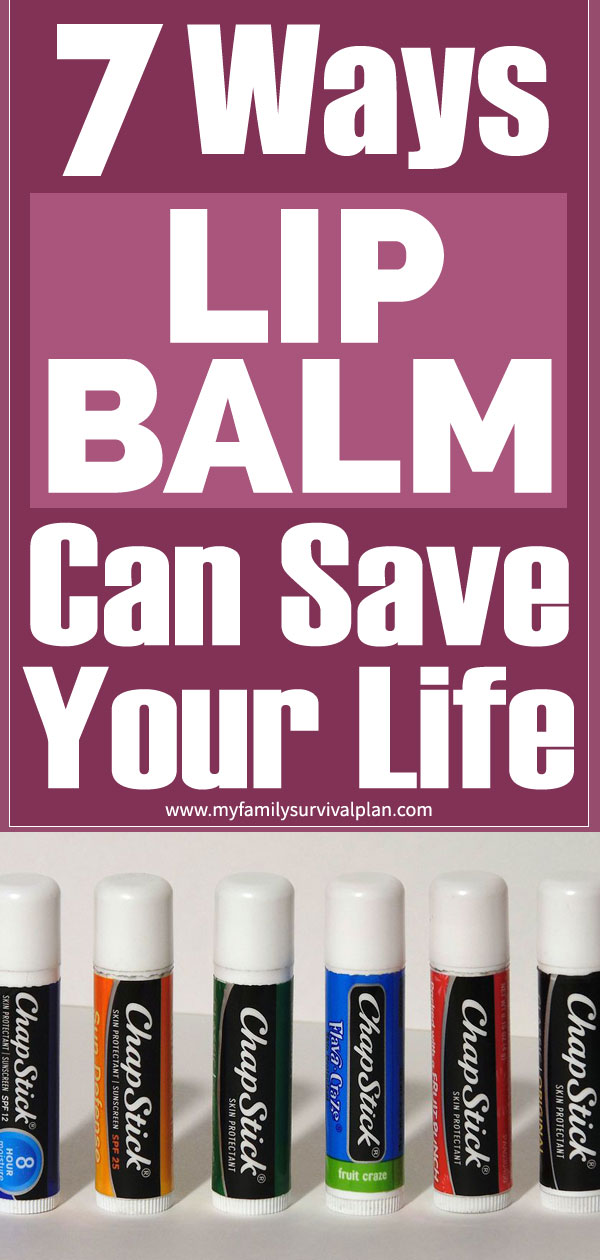 7 Ways Lip Balm Can Save Your Life