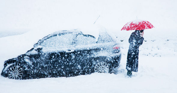 How To Survive In A Car When It's Freezing Cold
