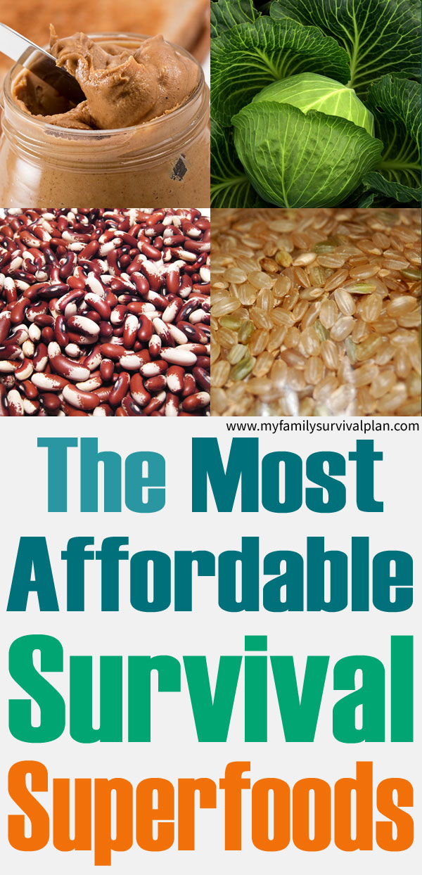 The Most Affordable Survival Superfoods
