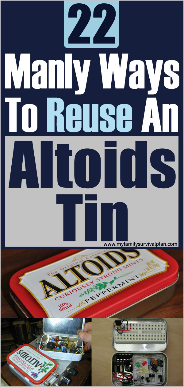22 Manly Ways to Reuse an Altoids Tin
