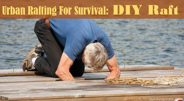 Urban Rafting For Survival - DIY Raft