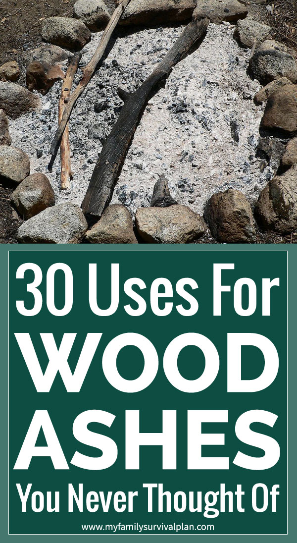 30 Uses For Wood Ashes You Never Thought Of