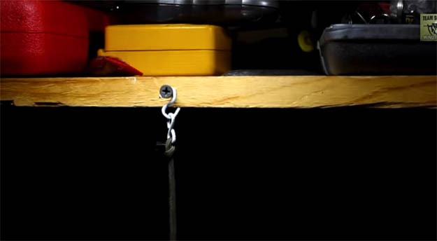 Guy wire and S hook