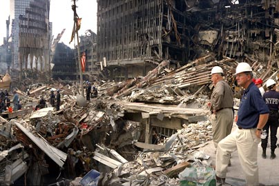 Escaping from ground zero